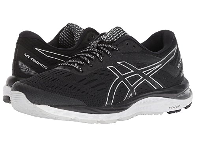 [asics(アシックス)] レディースランニングシューズ?スニーカー?靴 GEL-Cumulus 20 Black/White 12 (28.25cm) B - Medium