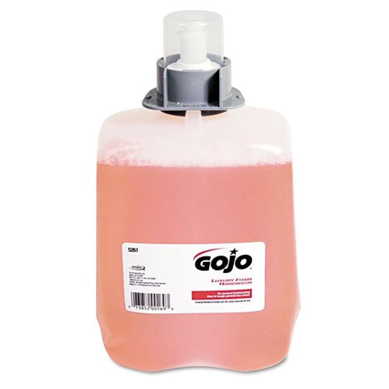 神学校模索憤るGOJO ®ラグジュアリーFoam Hand Wash Refill for fmx-20ディスペンサー、クランベリー香り、2 / Ctn