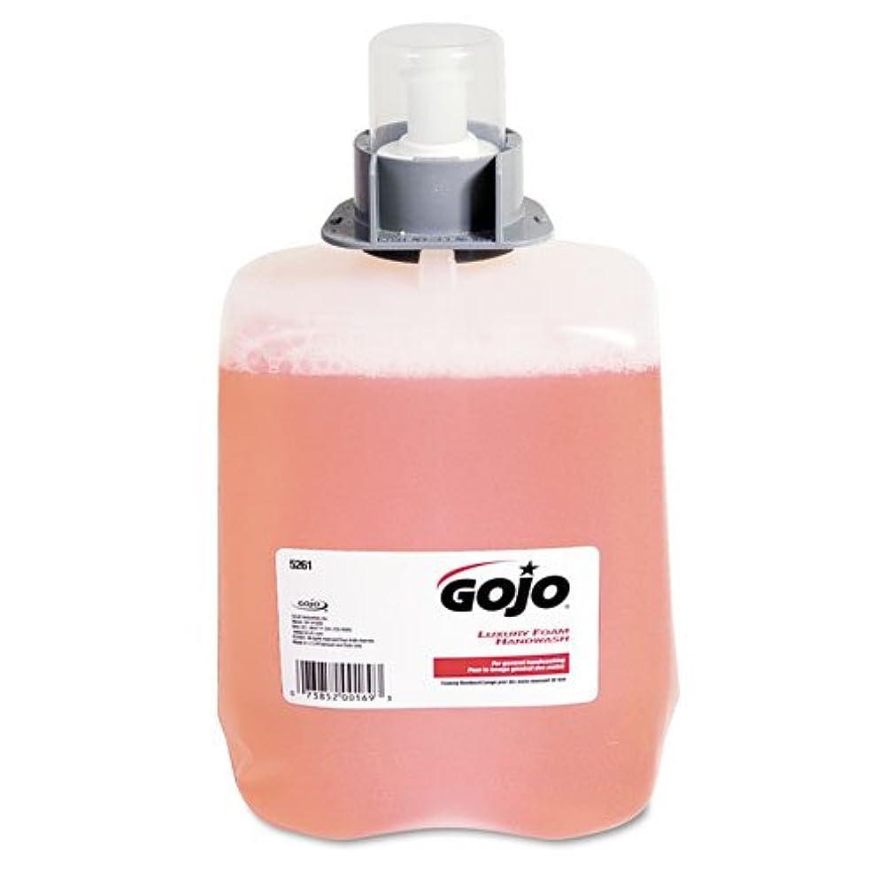 該当するうっかり繁殖GOJO ®ラグジュアリーFoam Hand Wash Refill for fmx-20ディスペンサー、クランベリー香り、2 / Ctn