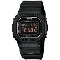 CASIO(カシオ)腕時計 Gショック マットブラック レッドアイ DW5600MS-1[逆輸入品]