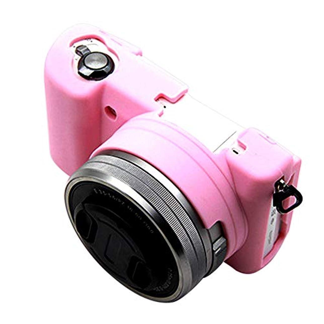 平和評価記念碑的なBGOO ソフトシリコンカメラカバー シリコンアーマーケースバッグ カメラカバープロテクター Sony A5100 A5000用