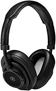 Master & Dynamic MW50+ Wireless 2 in 1, Bluetooth Exchangeable On/Over-Ear Headphones, Black/B