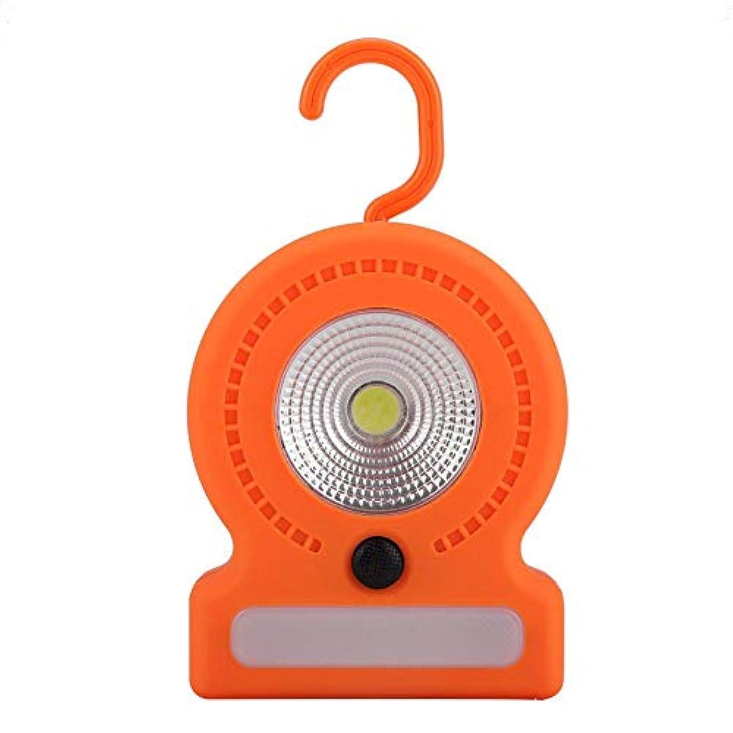 休日力学唯物論キャンプライト LED ランタン 電池式 耐久性 COBライト 小型 防水 キャンプ アウトドアに最適