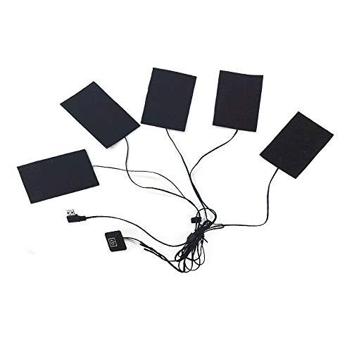ヒーターパッド USB加熱ヒーター 電熱ヒーター USB充電...