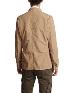 Beste Cotton Linen Work Jacket 3225-186-1603: Beige