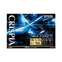 エプソン(EPSON) 写真用紙クリスピア〔高光沢〕 (L判/200枚) KL200SCKR