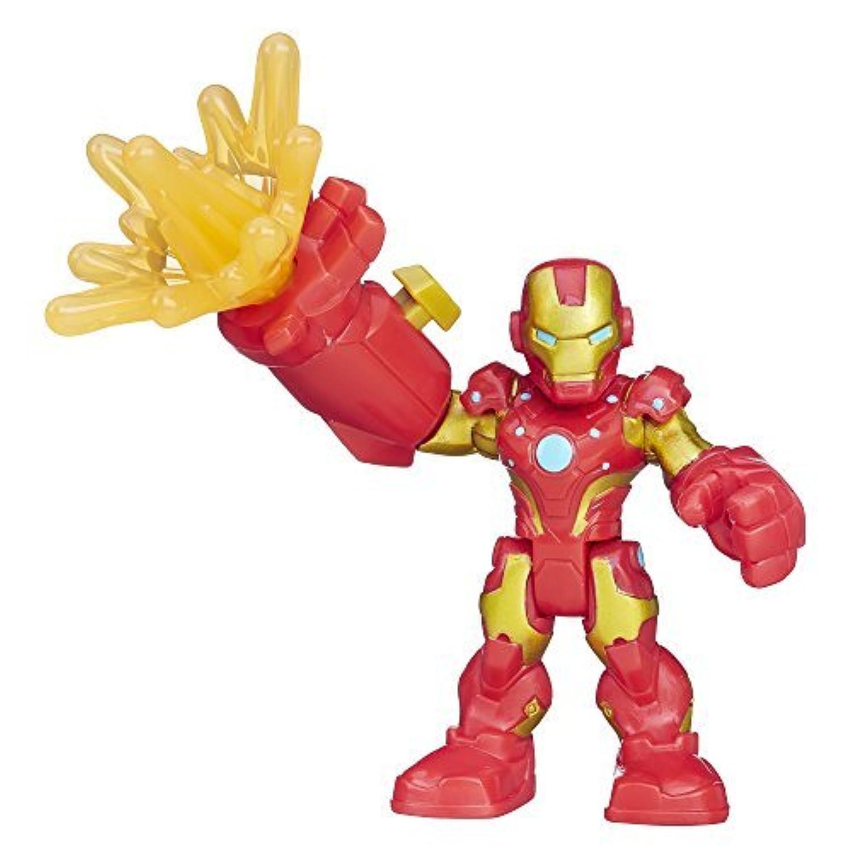 Playskool Heroes Marvel Super Hero Adventures Repulsor Ray Iron Man [並行輸入品]