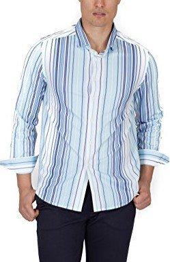 Buki SHIRT メンズ カラー: ブルー