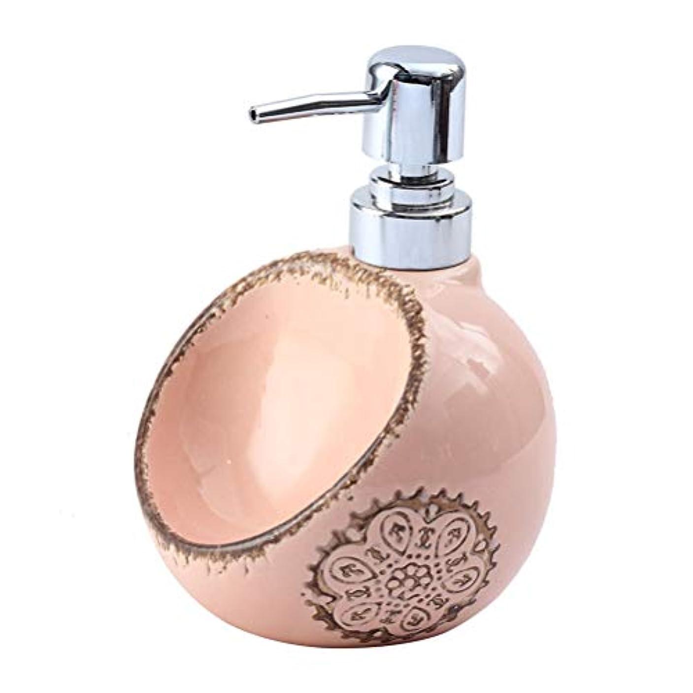 カテゴリー製油所応用250ML / 420ML / 580MLクリエイティブセラミックソープディスペンサーデュアルユース洗剤ハンドスポンジシート浴ボトルサブ瓶と瓶消毒 (Size : A)