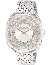 [スワロフスキー]Swarovski 腕時計 クリスタルライン グラム【CRYSTALLINE GLAM】クォーツ ステンレススチールケース ホワイト文字盤 レディース 5455108 レディース 【並行輸入品】