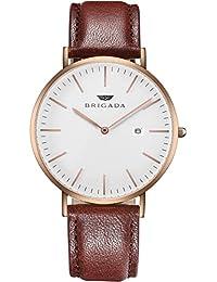 BRIGADA スイス ブランド 時計 メンズ 人気 高級 腕時計 カレンダー