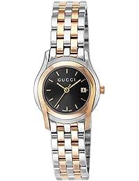 [グッチ]GUCCI 腕時計 Gクラス ブラック文字盤 ステンレス/ステンレス(PGPVD) ケース YA055537 レディース 【並行輸入品】