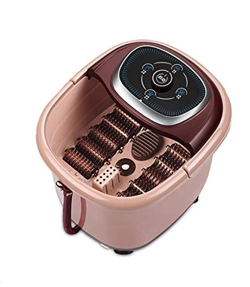 硬い小人二電気フットマッサージャー、フットスパ/ペディキュアマッサージ機、自動回転ペディキュア/バブルスプレー磁気フットケア/足底筋膜炎/圧力/痛みを和らげ、血液循環を促進/睡眠