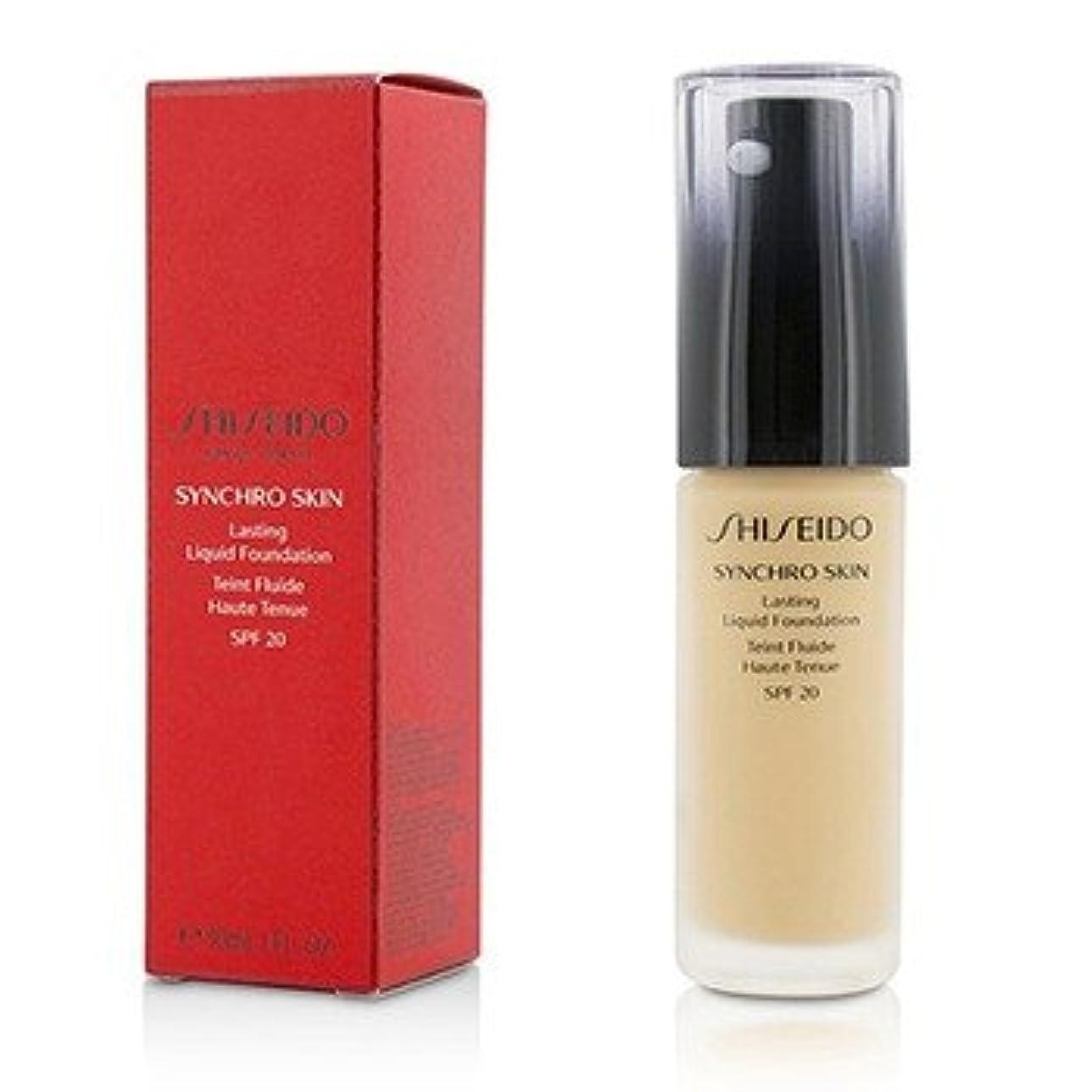脱臼するミリメートルプレフィックス[Shiseido] Synchro Skin Lasting Liquid Foundation SPF 20 - Neutral 3 30ml/1oz