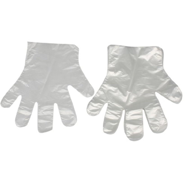 基礎理論うめき声許可するuxcell ホーム用キッチン用品 薄い柔軟な 使い捨て手袋 クリア ホワイト100 枚