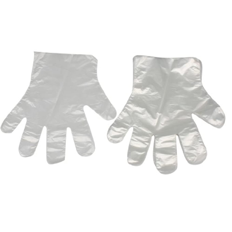 グラフ元に戻すまもなくuxcell ホーム用キッチン用品 薄い柔軟な 使い捨て手袋 クリア ホワイト100 枚