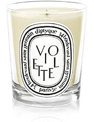 Diptyque Candle Violette / Violet 190g (Pack of 6) - Diptyqueキャンドルヴァイオレット/バイオレット190グラム (x6) [並行輸入品]