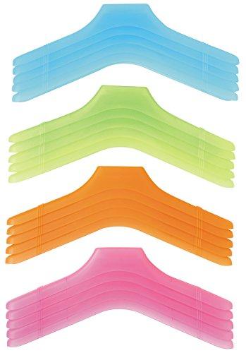 アーネスト 衣類ハンガー マルチ 4色各5本組 A-76950