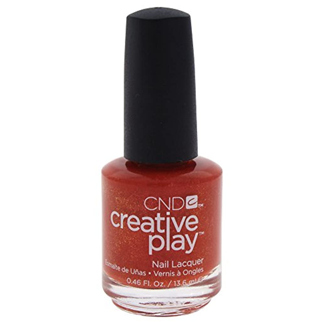 コートかなりの十分にCND Creative Play Lacquer - See U in Sienna - 0.46oz / 13.6ml