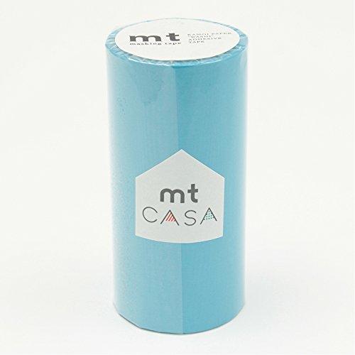 RoomClip商品情報 - カモ井加工紙 マスキングテープ mt CASA 100mm 100mm幅×10m巻き みず MTCA1051