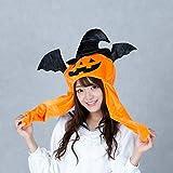 ハロウィン カボチャのぴこぴこ帽子