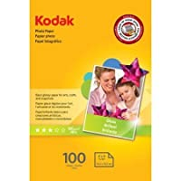 Kodak 4x 6光沢インクジェット写真用紙–100シート