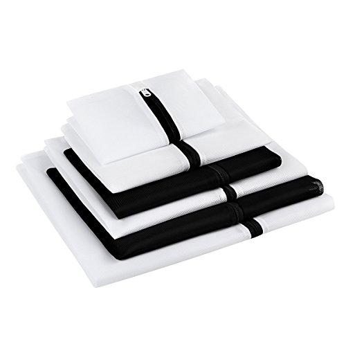 GLAMOURIC 洗濯ネット ランドリーネット 洗濯袋 6枚入 セット 細目角型 収納 終身交換承り
