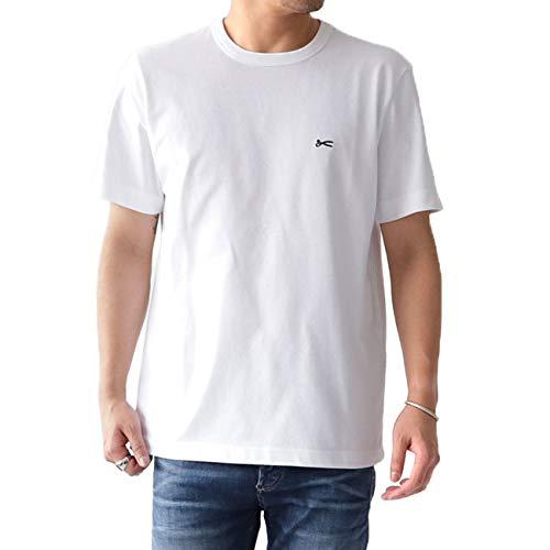DENHAM デンハム シザーロゴTシャツ AMERICANA TEE HCJ 半袖Tシャツ (メンズ)【S-BRIGHT WHITE】