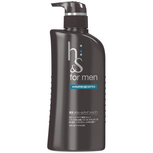 h&s for men シャンプー ボリュームアップ ...