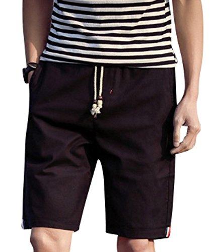(アルファーフープ) α-HOOP メンズ ファッション 5 分 丈 ハーフパンツ 無地 短パン 半 ズボン M ~ XL まで 大きい サイズ も TAN-2