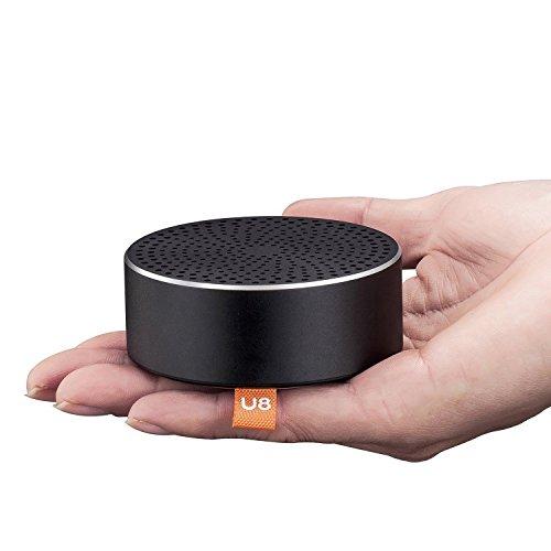 Bluetoothスピーカー Benazcap 高音質 ポータブル ワイヤレススピーカー 内蔵マイク搭載 bluetooth4 mini iphone/ipad/Samsung/htcなど対応(ブラック)