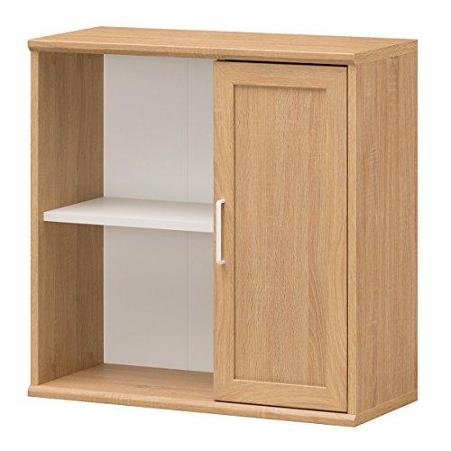 RoomClip商品情報 - 白井産業【SHIRAI】キャビネット 本棚 ガレンタ シンプルデザイン 幅72cm コンパクトサイズ GAR-7070D