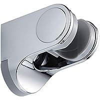 Dovewill ホルダー シャワーヘッド バスルーム 交換用 ブラケット ウォール 45度スイベル ABSプラスチック 取り付け簡単