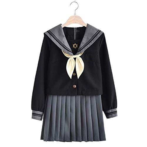 コスチューム衣装 長袖 学生 女子高生 セーラー服 セーラー...