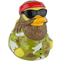 CelebriDucks Camo Quacker Rubber Duck Bath Toy [並行輸入品]