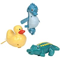 Battat Wind Up Tubbies (Crocodile, Sea Horse, and Duck) by Battat [並行輸入品]