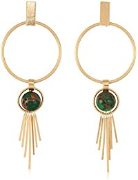 Danielle Nicole Women's Vast Plain Earrings