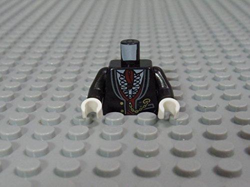 レゴ ミニフィグ 【トルソー】 1184_Black
