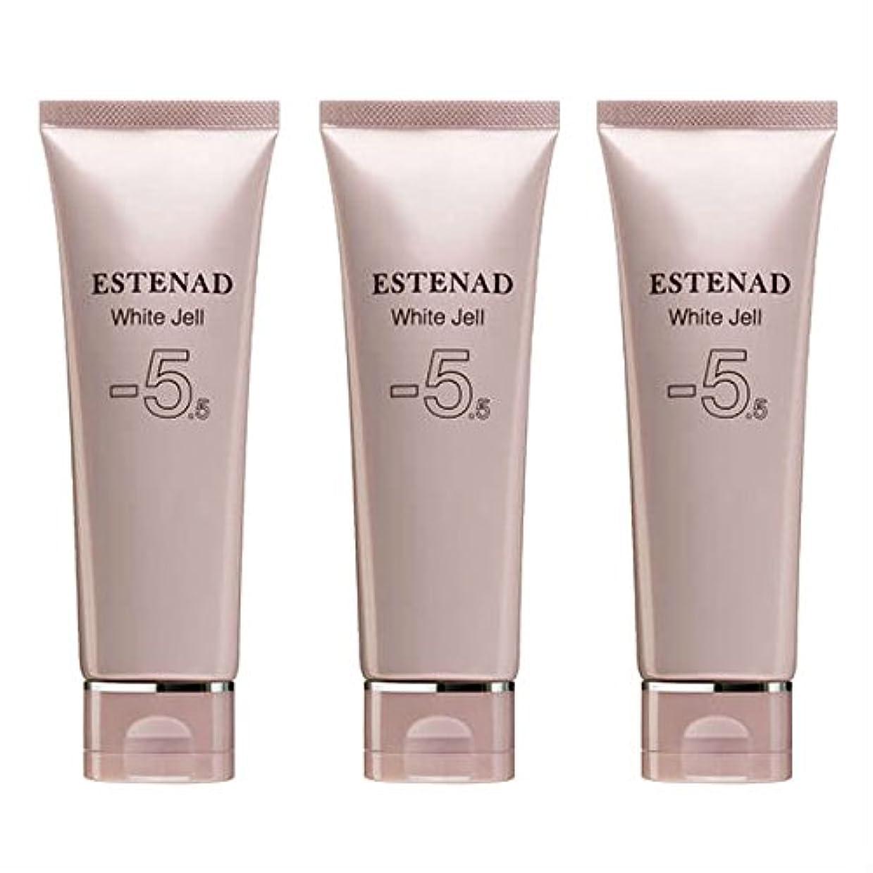 突っ込むチョーク媒染剤エステナード 薬用ホワイトジェル 70g 3本セット