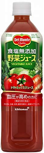 デルモンテ 食塩無添加 野菜ジュース 900g ×12本
