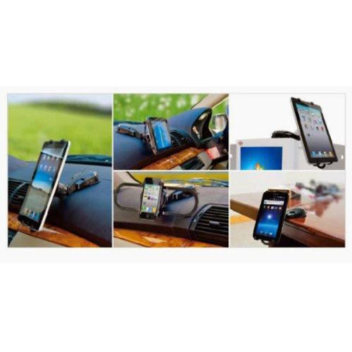 車ダッシュボードマウントタブレットホルダーDock for iPad Retina、新しいiPad、iPad 2、iPad air、iPad 4、Apple iPad Mini