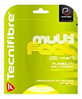 Tecnifibre Multi-Feel (17-1.25mm) Tennis String Set (Natural) [並行輸入品]