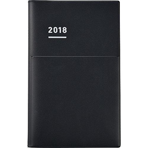 コクヨ ジブン手帳 Biz 2018年 12月始まり A5スリム マットブラック ニ-JB1D-18