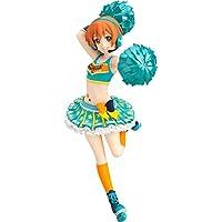 Max Factory Love Live School Idol Festival: Rin Hoshizora (Cheerleader Version) Figfix Statue Figure [Floral] [並行輸入品]