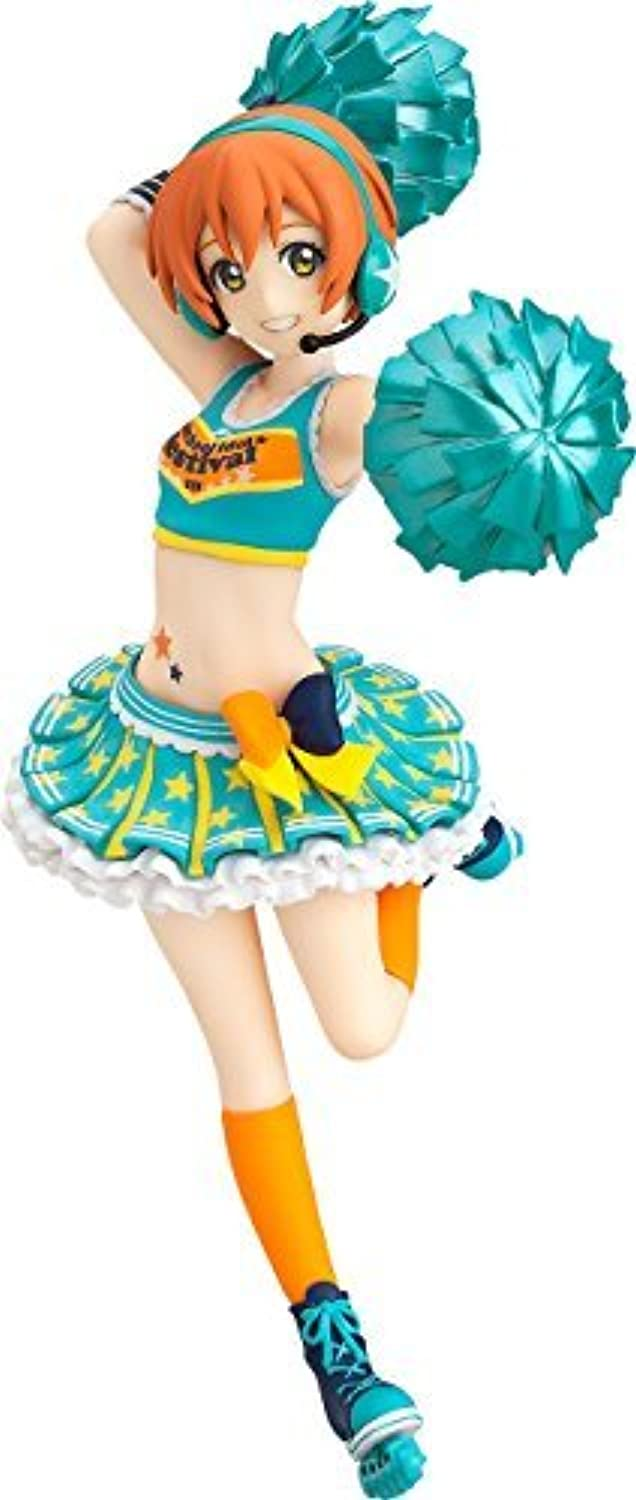 Max Factory Love Live School Idol Festival: Rin Hoshizora (Cheerleader Version) Figfix Statue Figure [Floral] [並行輸入品]