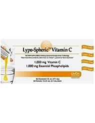 【正規販売代理店品】[3箱セット]リポスフェリックビタミンC(1,000mg×30包入)/リポソームビタミンCサプリメント[Lypo-Spheric Vitamin C (1,000mg×30 Packs)/Liposormal Vitamin C