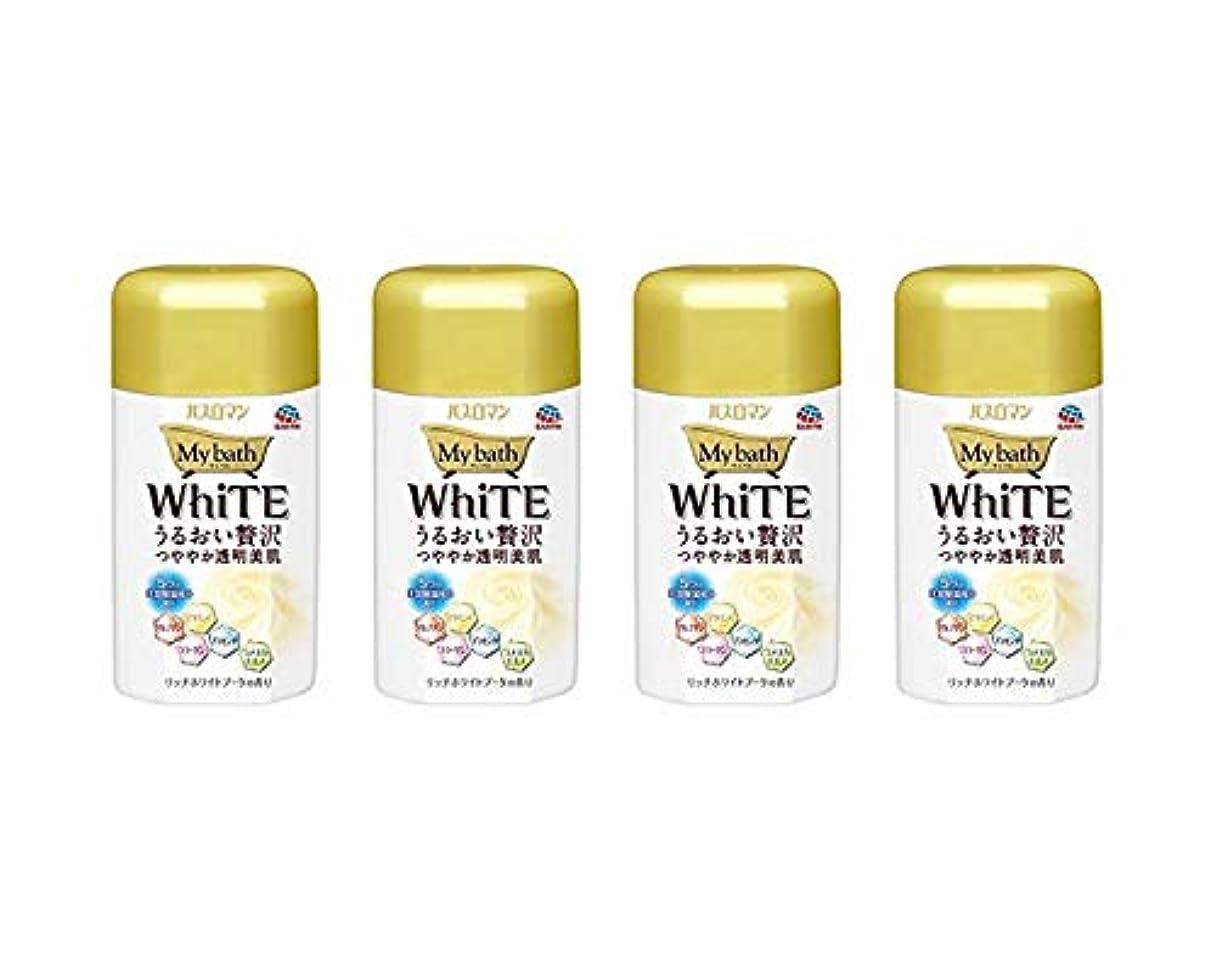 恩恵実験シェトランド諸島バスロマン マイバス ホワイト × 4個セット