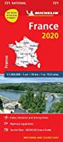 France 2020 - Michelin National Map 721 (Michelin National Maps)