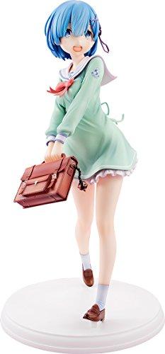 Re:ゼロから始める異世界生活 レム 学生服Ver. 1/7スケール PVC製 塗装済み完成品フィギュア