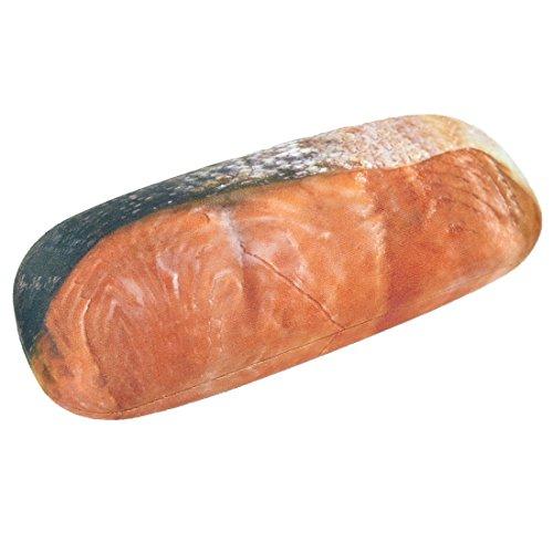 メガネケース かわいい 肉 おもしろ 鮭 切り身 プレゼント ハード 食べ物...